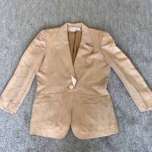 Vintage Rare CHRISTIAN DIOR LINEN oversize blazer